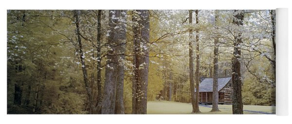 Cabin In The Smoky's Yoga Mat