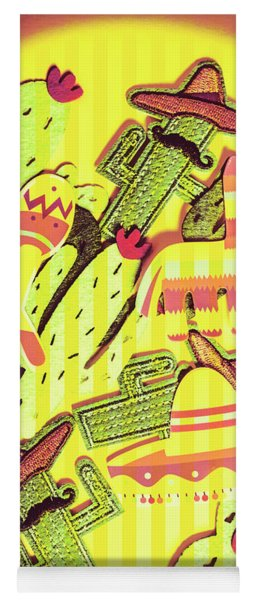 Cactus Carnival Yoga Mat