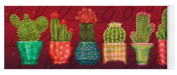Cactus Friends Yoga Mat