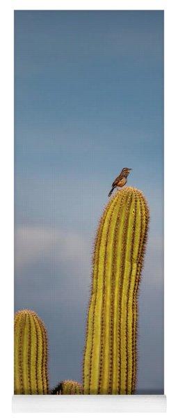 Cactus Wren Yoga Mat