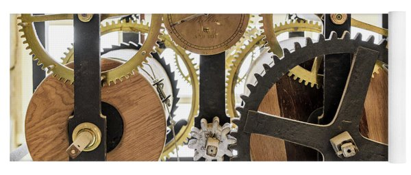 Cadiz Cathedral Clockworks Yoga Mat