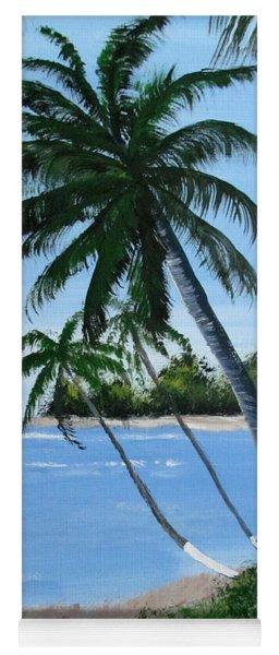 Calm In The Palms Yoga Mat