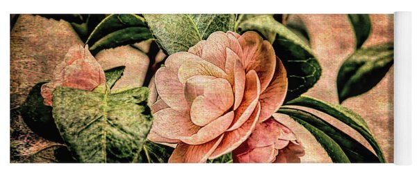 Camellia Grunge Yoga Mat