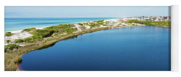 Camp Creek Lake Meets The Gulf Yoga Mat