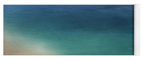 Cancun Coast- Art By Linda Woods Yoga Mat
