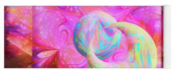 Candy Universe Yoga Mat