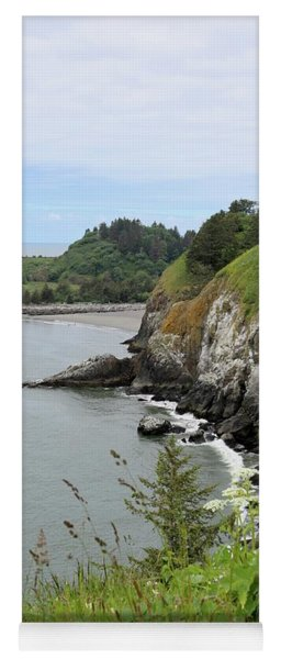 Cape Disappointment Vertical Yoga Mat