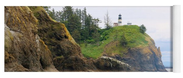 Cape Disappointment With Cliffs Yoga Mat