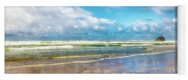 Cape Kiwanda Beach Yoga Mat
