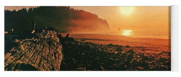 Cape Meares Beach Yoga Mat