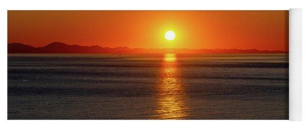 Captivating Sunset I Yoga Mat