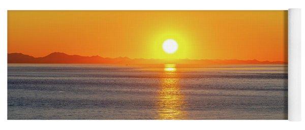 Captivating Sunset II Yoga Mat