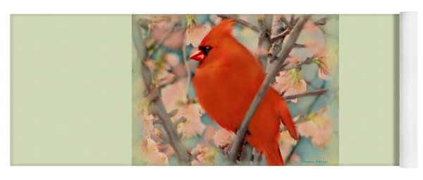 Cardinal Spring Yoga Mat