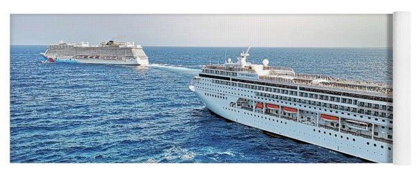 Caribbean Cruise On Msc Seaside - Visit Costa Maya, Mexic Yoga Mat
