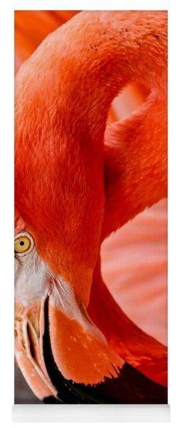 Caribbean Flamingo Yoga Mat