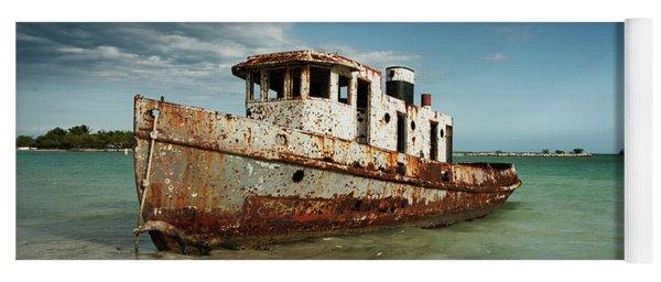 Caribbean Shipwreck 21002 Yoga Mat