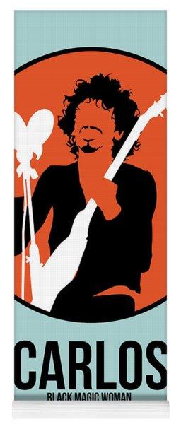 Carlos Santana Yoga Mat