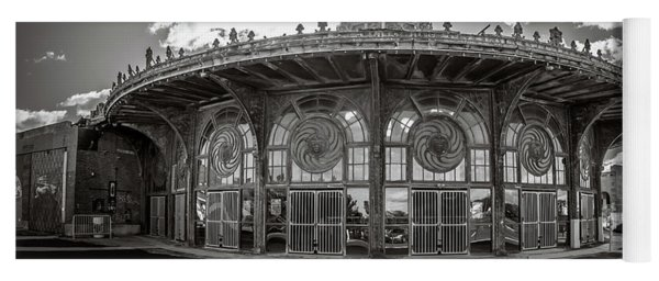 Yoga Mat featuring the photograph Carousel House by Steve Stanger