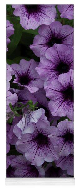 Cascade In Violet Yoga Mat