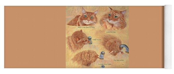 Cat Splash Yoga Mat