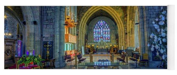 Cathedral At Christmas Yoga Mat