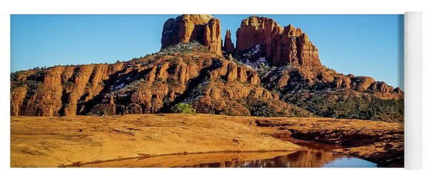 Cathedral Rock Reflection Yoga Mat