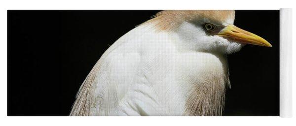 Cattle Egret Yoga Mat