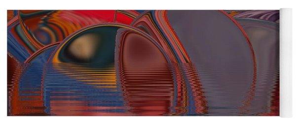 Yoga Mat featuring the digital art Cave De Sensation by A zakaria Mami