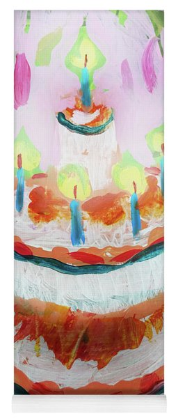 Celebration Cake Yoga Mat