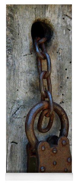 Chain And Lock Yoga Mat