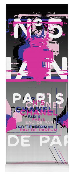 Chanel No 5 - Pop Art Yoga Mat