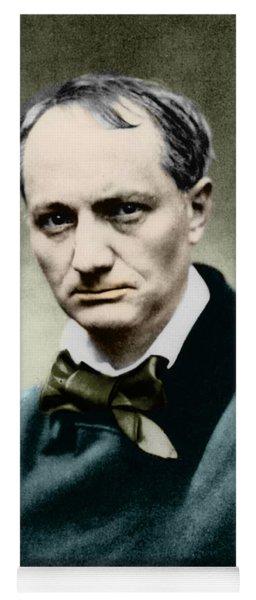Charles Baudelaire, French Writer, Photo Yoga Mat