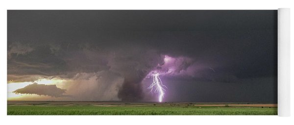 Yoga Mat featuring the photograph Chasing Naders In Nebraska 017 by Dale Kaminski
