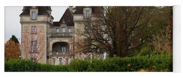 Chateau, Near Beynac, France Yoga Mat
