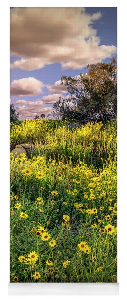 Chatsworth Wildflower Bloom Yoga Mat