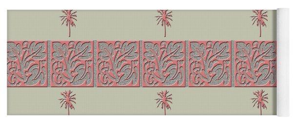 Cheery Coral Pink Yoga Mat