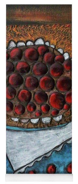 Cherry Pie Yoga Mat