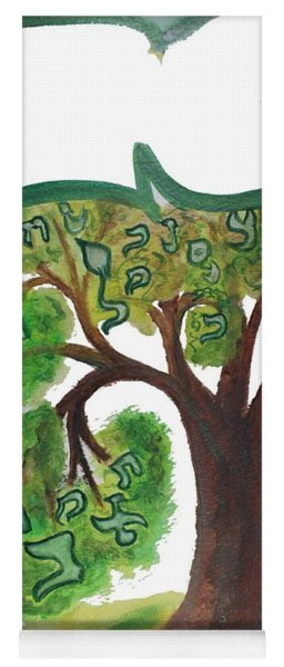 Chet, Tree Of Life  Ab21 Yoga Mat