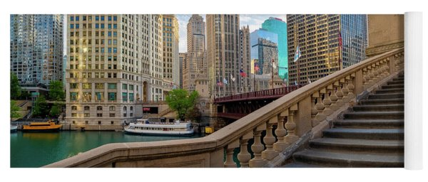 Chicago Riverwalk  Yoga Mat
