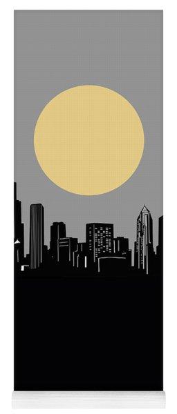 Chicago Skyline Minimalism 2 Yoga Mat