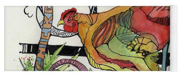 Chicken Yoga Mat