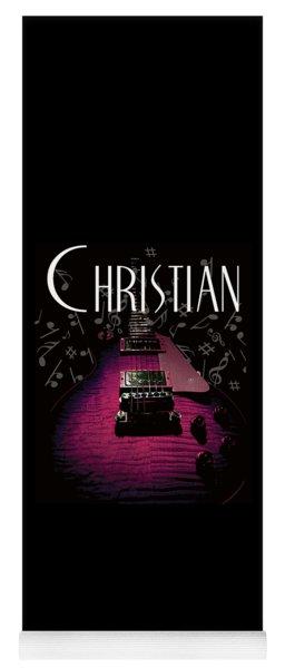 Christian Music Guita Yoga Mat