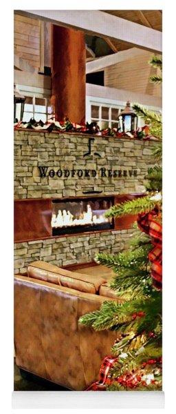 Christmas At Woodford Reserve Yoga Mat
