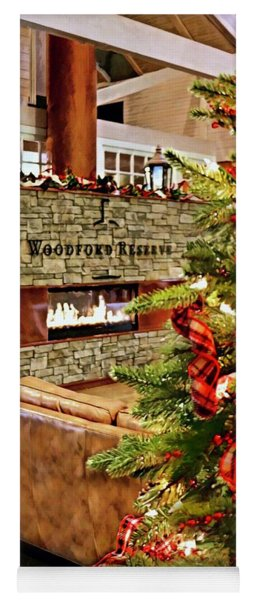 Christmas At Woodford Reserve Yoga Mat