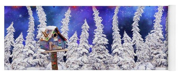 Christmas Lights Yoga Mat