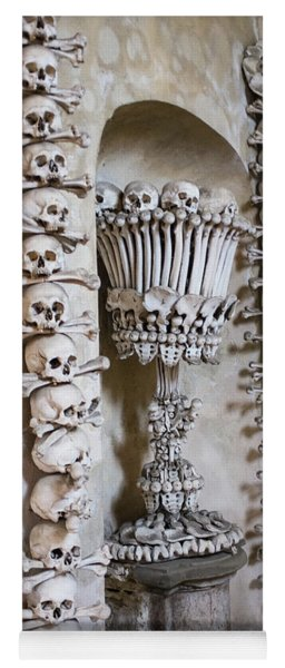 Yoga Mat featuring the photograph Church Of Bones by Mark Duehmig