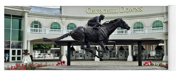 Churchill Downs Barbaro Yoga Mat