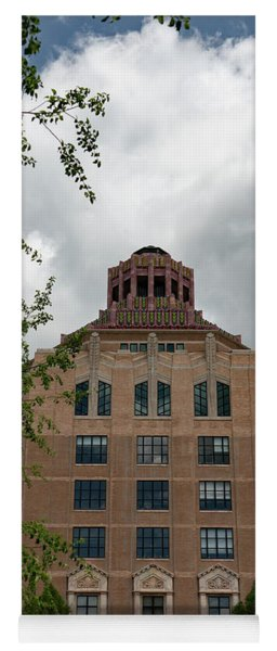 City Hall Of Asheville Yoga Mat