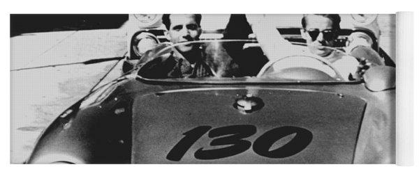 Classic James Dean Porsche Photo Yoga Mat