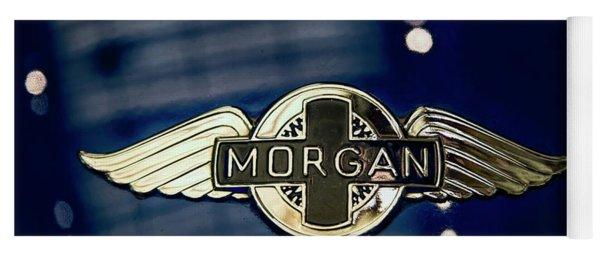 Classic Morgan Name Plate Yoga Mat